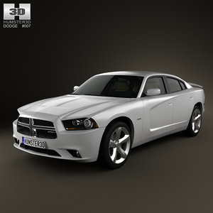 dodge charger 2011 interior 3ds