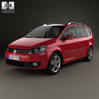 volkswagen touran 2011 3ds