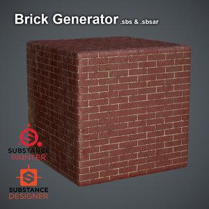 Brick Generator Substance