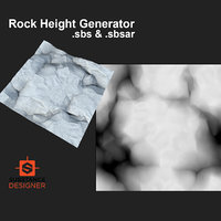 Rock Height Generator