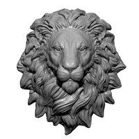 Lion Head Statue