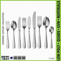 Common Cutlery Set 9 Pieces
