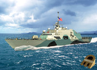 USS Freedom LCS Camouflage