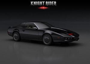 knight rider 3d model