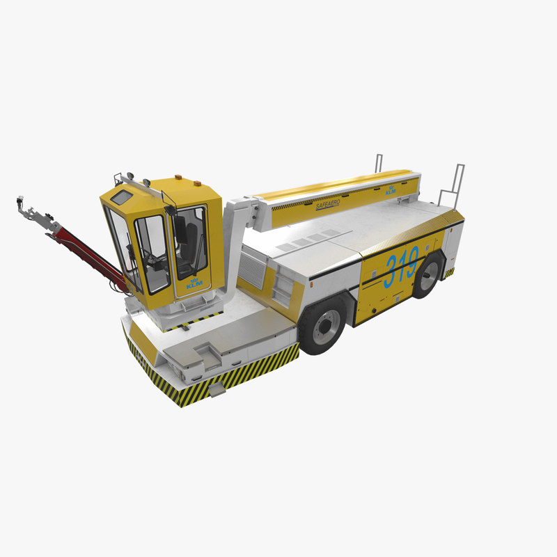 realistic deicer safeaero 220 3D model