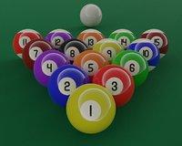 Pool Ball Textures