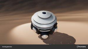 free gravity generator 3d model