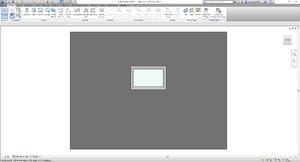 Single pane fully modifiable window