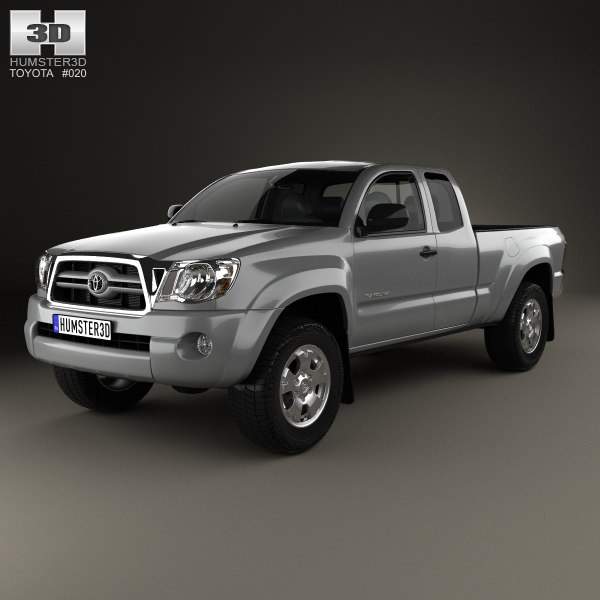 3d toyota tacoma 2011 model