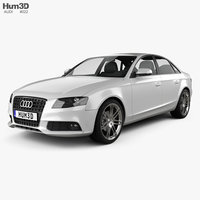 audi a4 saloon 2011 3d 3ds