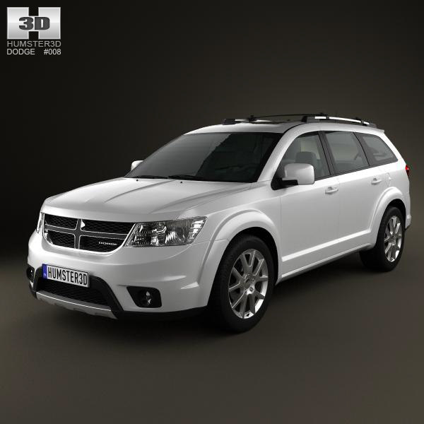 3d model dodge journey 2011