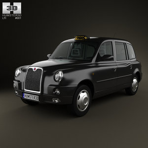 lti tx4 london taxi 3d obj