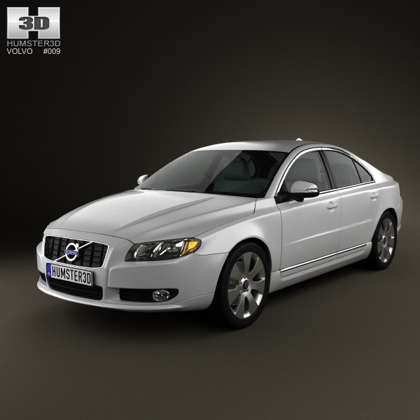 s80 2011 3d model