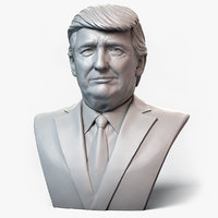 donald trump emotion 1 3D model