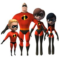 Mr Incredible family