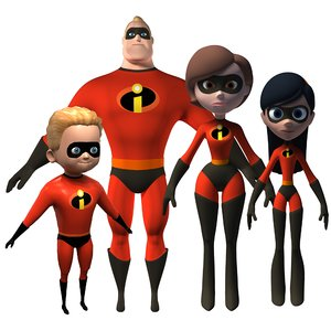 3D mr incredible