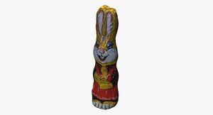 choco bunny 3D model