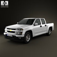 3ds chevrolet colorado crewcab 2012