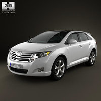 toyota venza 2011 3d model