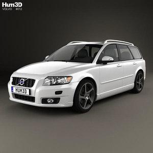 v50 2011 3d model