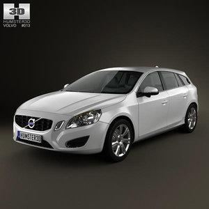 3d model v60 2011