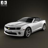 3d chevrolet camaro 2ss rs model