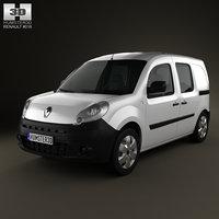 Renault Kangoo Van 2 Side Doors Glazed 2011