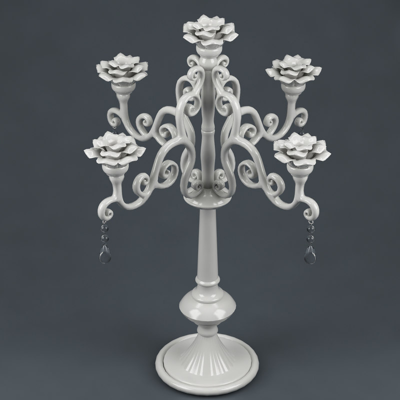 3ds max candlestick realistic