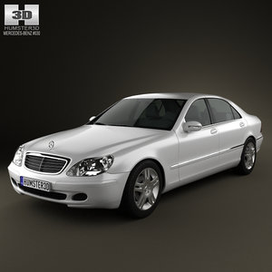 mercedes-benz s-class 2003 3ds
