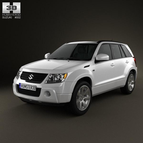 3d suzuki grand vitara 2011 model