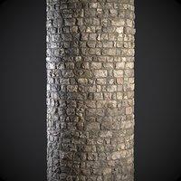 Church stone wall