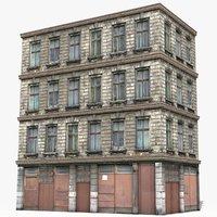 apartment building house 3D