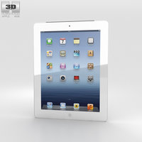 3d apple new ipad model