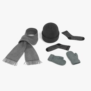 winter accessories model