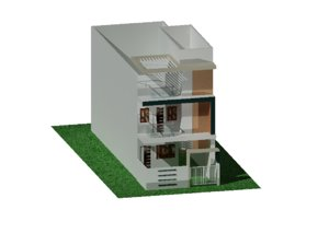 20 x 60 house elevation