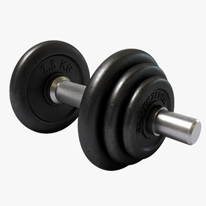 weights 3d model