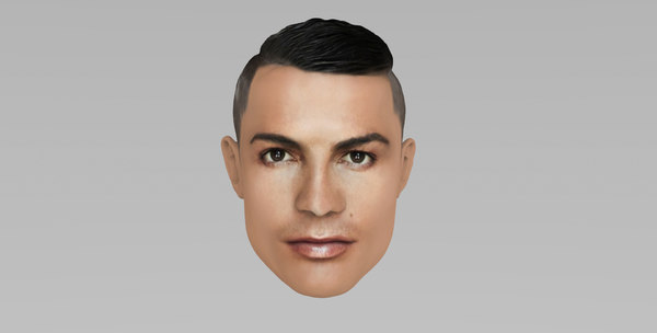ronaldo cr cristiano 3D model
