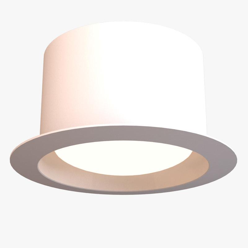 max recessed light interior ceiling