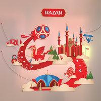3D kazan tatarstan russia