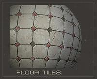 Floor Tiles (PBR material)