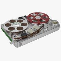 3d nagra sn miniature tape recorder model