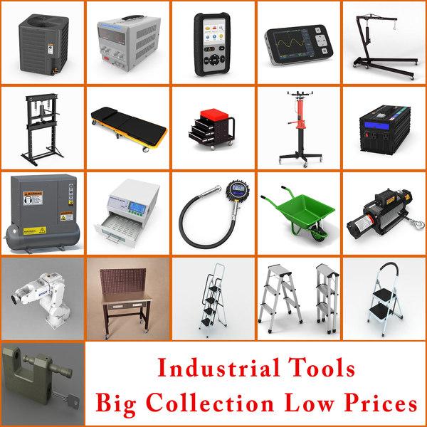 industrial tools 3D model