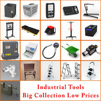 industrial tools collection