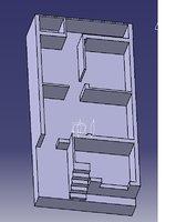 House floor Plan 20 feet X 30 Feet