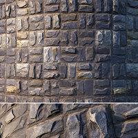 Natural facing stone