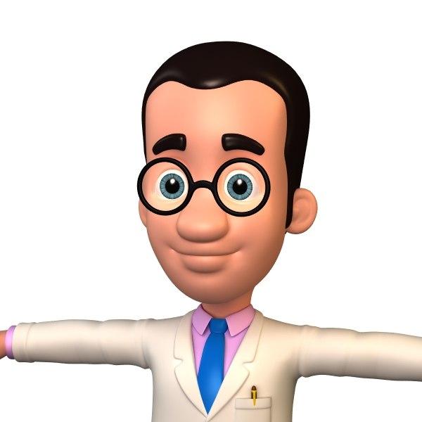 3d cartoon doctor