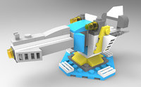 The LEGO turret