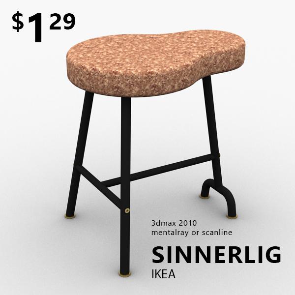 Taburete In English.Taburete Ikea Sinnerlig