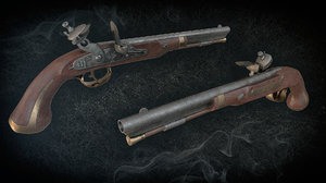harpers ferry flintlock pistol model