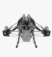 Suspension F1 Car